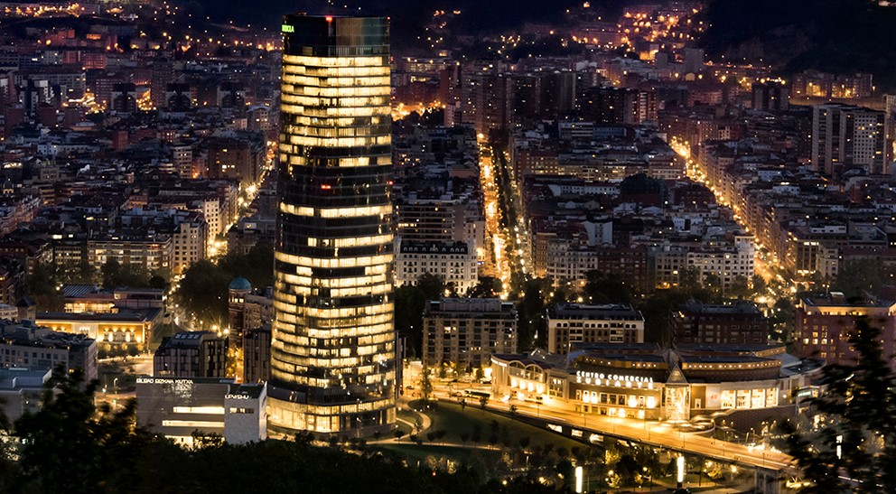 Torre iberdrola bilbao for Iberdrola oficinas bilbao